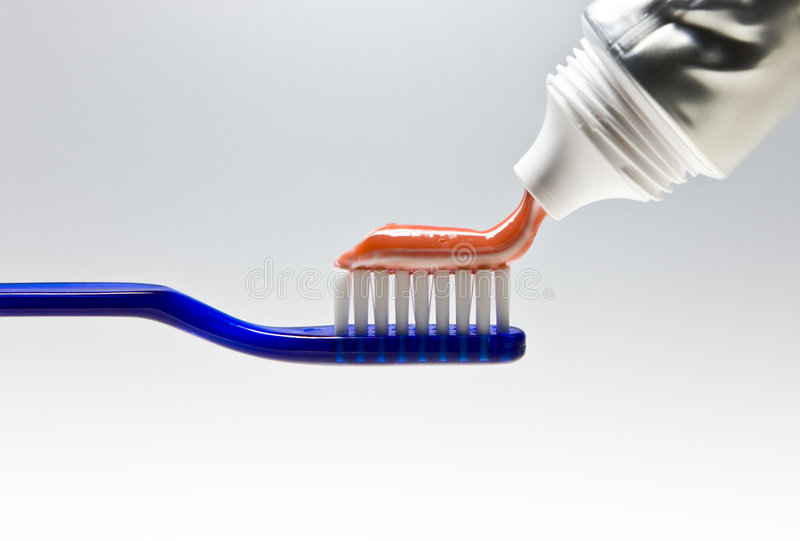 Toothbrush fotografia de stock