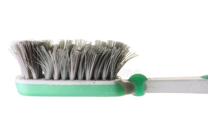Toothbrush consumato fotografie stock