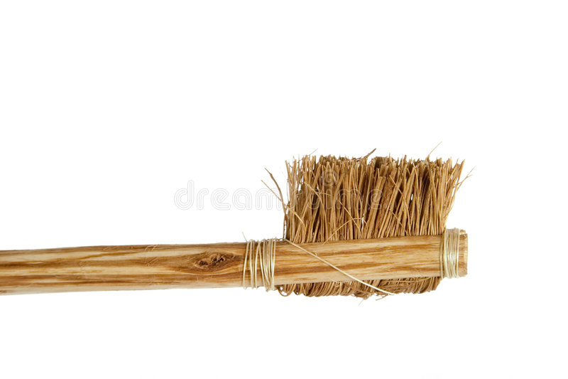 Toothbrush di massima fotografia stock libera da diritti