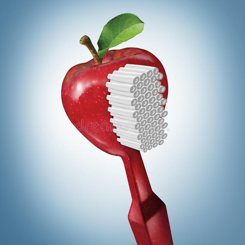 Toothbrush Health royalty free illustration