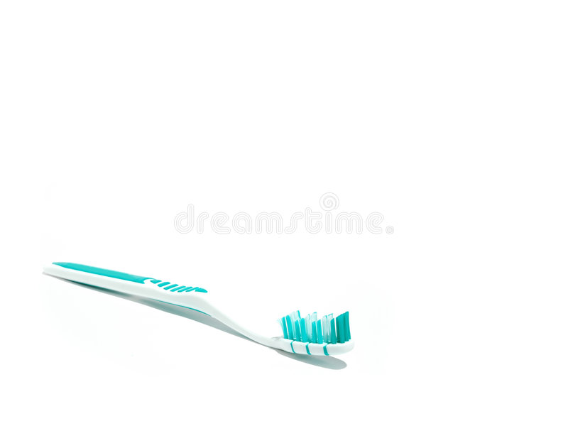 Toothbrush sem dentífrico #1 foto de stock royalty free