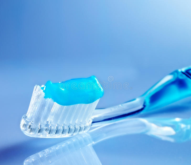 Download Toothbrush with toothpaste stock photo. Image of prevention - 36738892