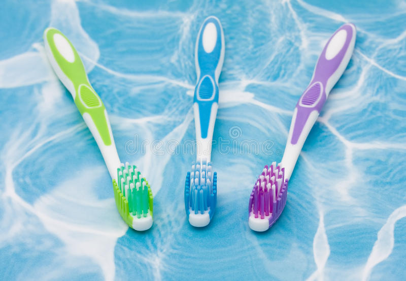 Toothbrushes obrazy royalty free