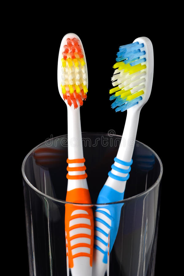 Download Toothbrushes stock image. Image of cleanliness, dentistry - 23018141