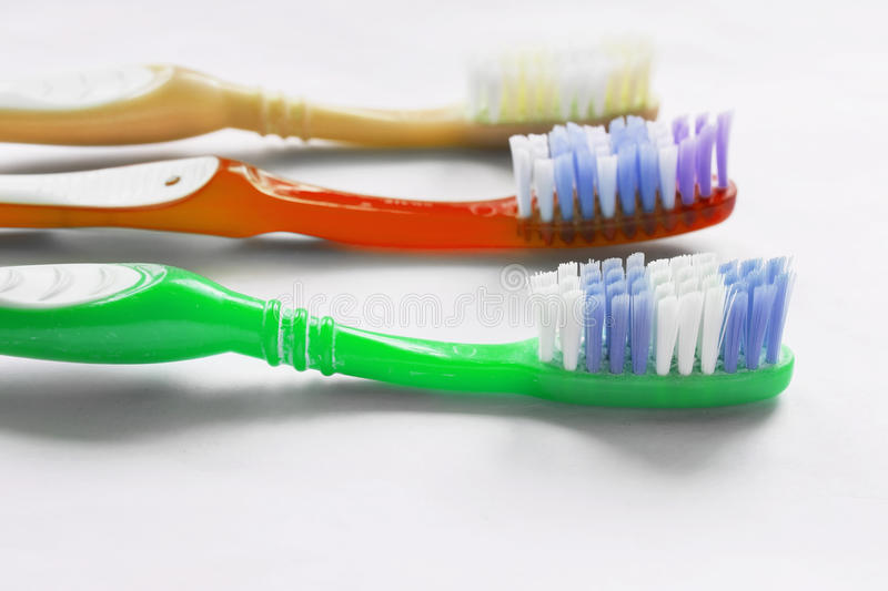 toothbrushes стоковое фото