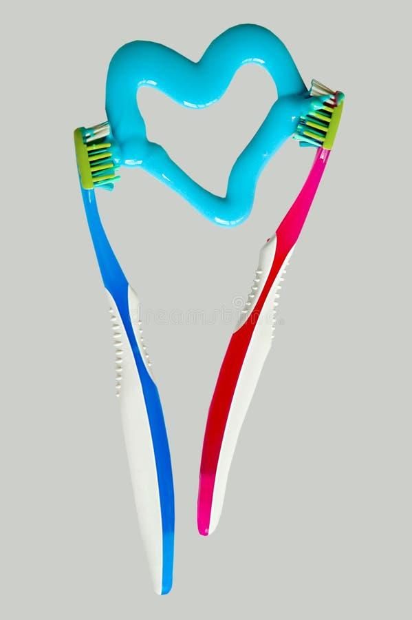 Toothbrushes fotografia de stock royalty free
