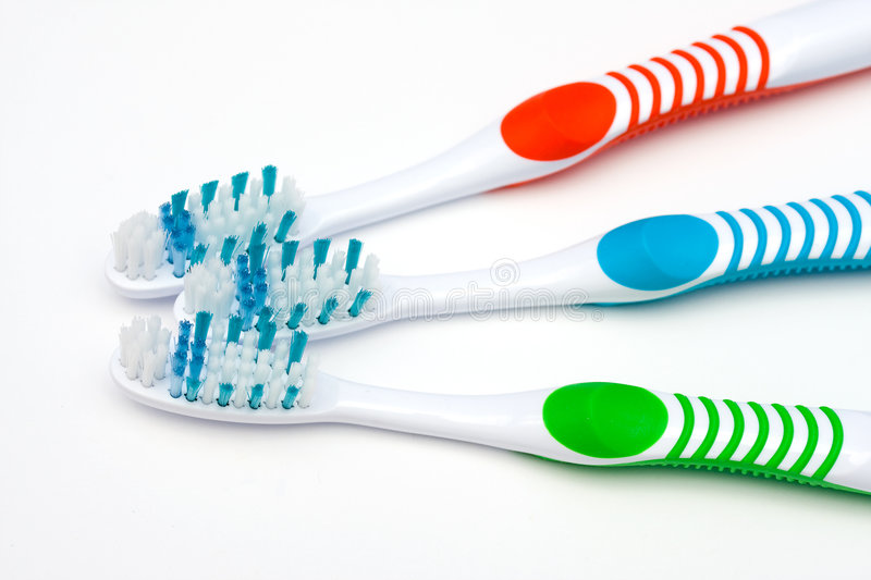 Download Toothbrushes stock photo. Image of dental, healthy, habit - 8515464