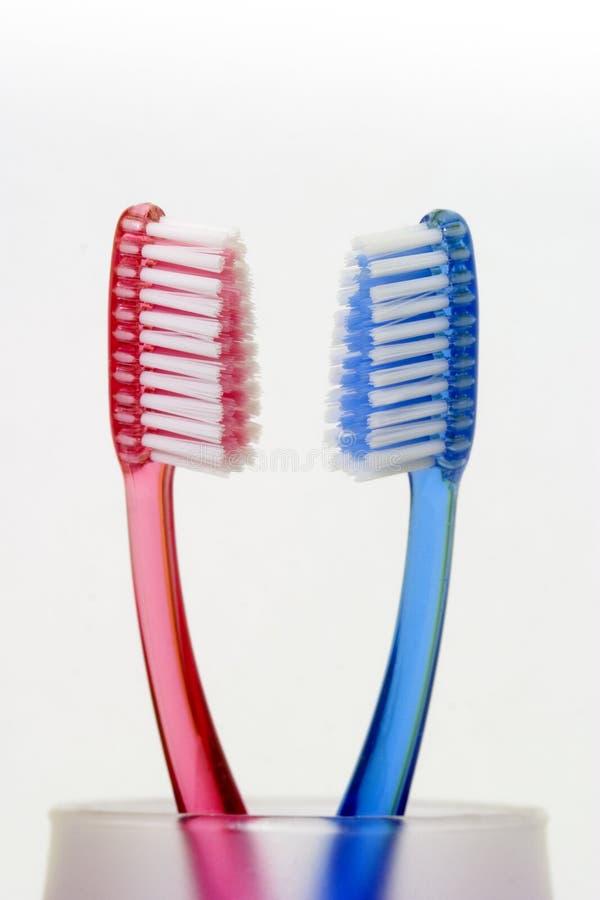 toothbrushes01 zdjęcia royalty free