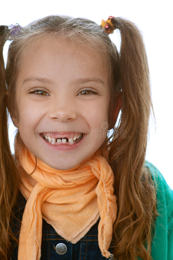 Download Toothless Little Girl Stock Image - Image: 26891471