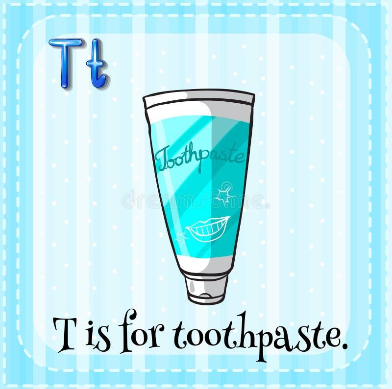 toothpaste illustration de vecteur