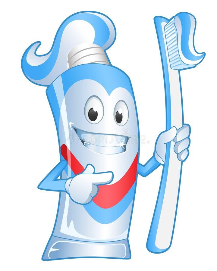 toothpaste illustration libre de droits