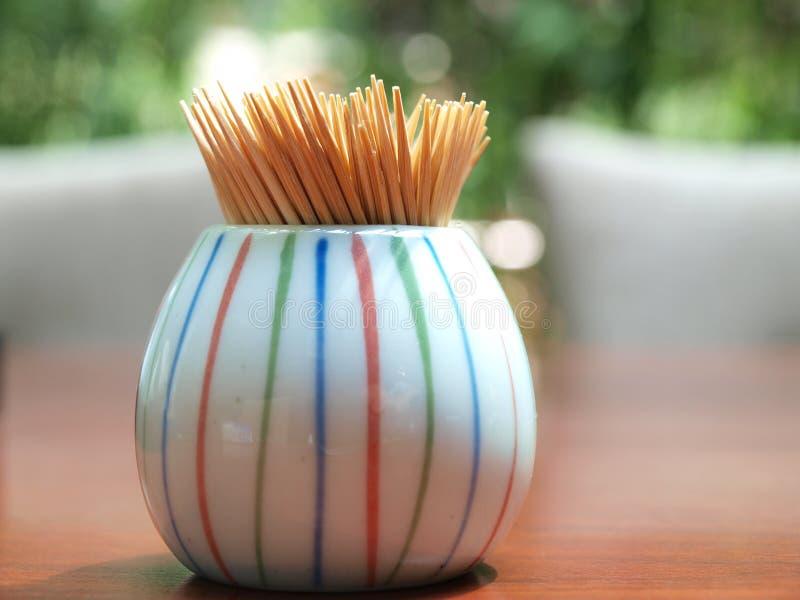 Toothpick fotografia de stock royalty free