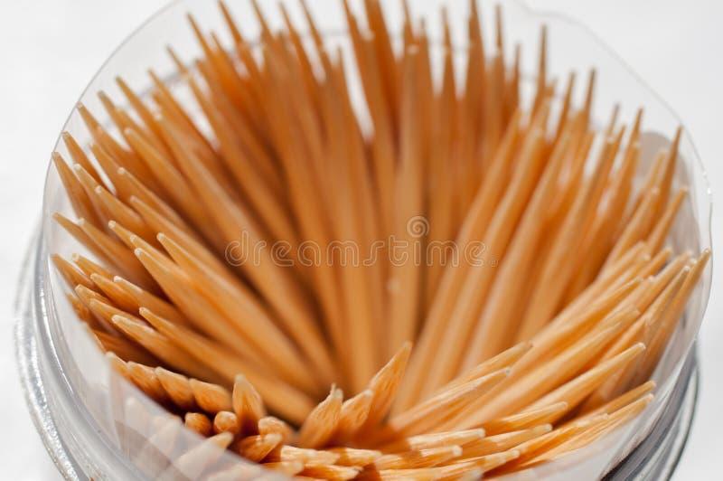 toothpick lizenzfreie stockfotografie