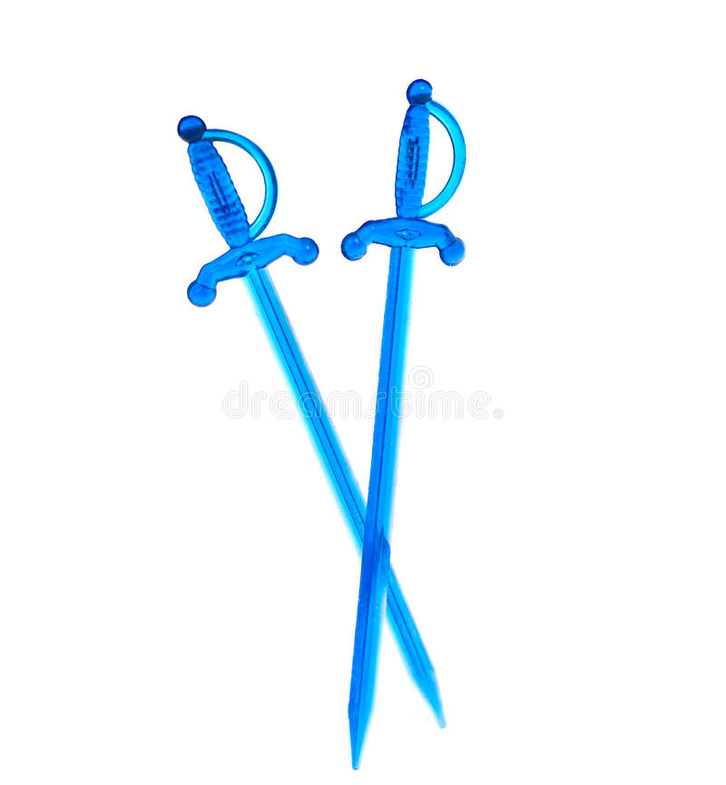 Toothpick da espada fotos de stock royalty free