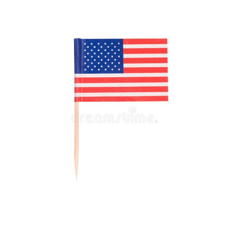Free Toothpick Flag USA Stock Photo - 48617890