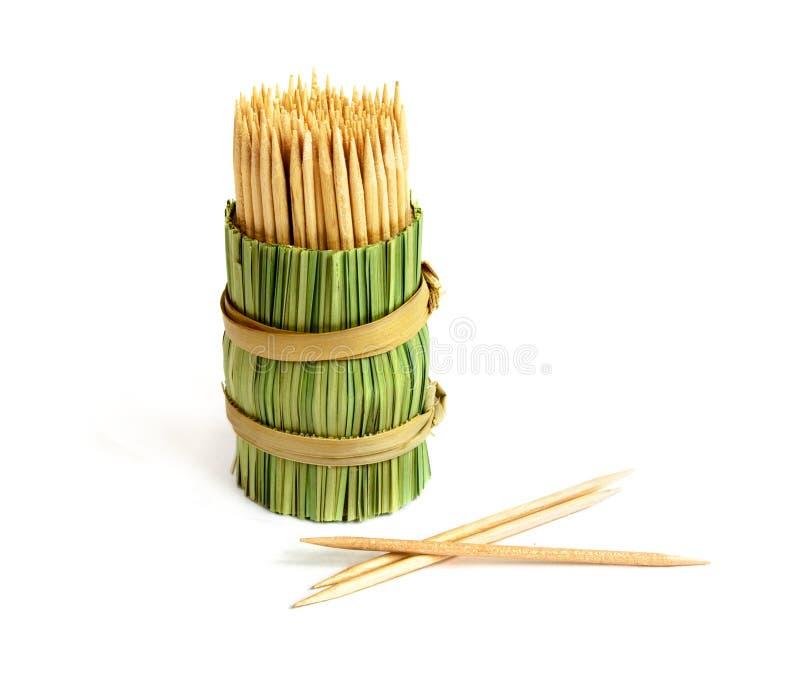 Toothpicks stockbild