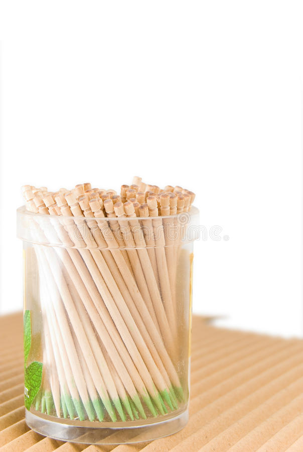 Download Toothpicks stock image. Image of brown, isolated, object - 17635093