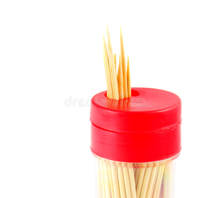 Toothpicks images stock