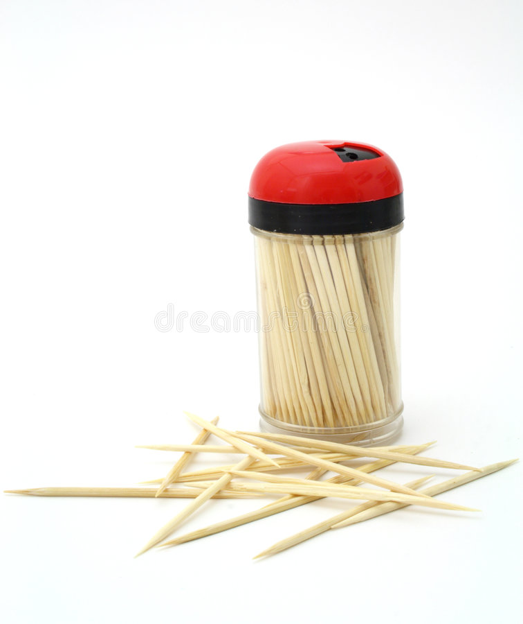 Toothpicks photographie stock