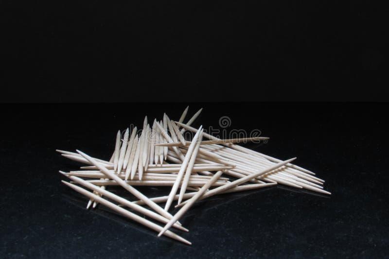 toothpicks fotografia de stock