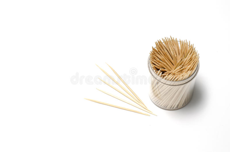 toothpicks fotografie stock