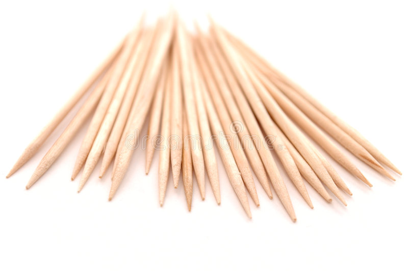 Download Toothpicks stock photo. Image of isolated, dentist, blank - 6042578