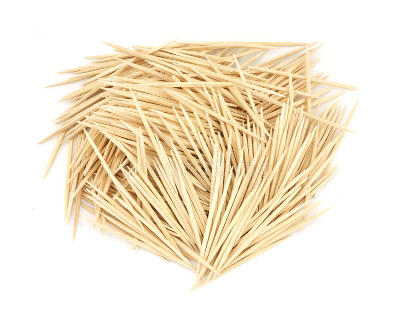 Toothpicks foto de stock royalty free