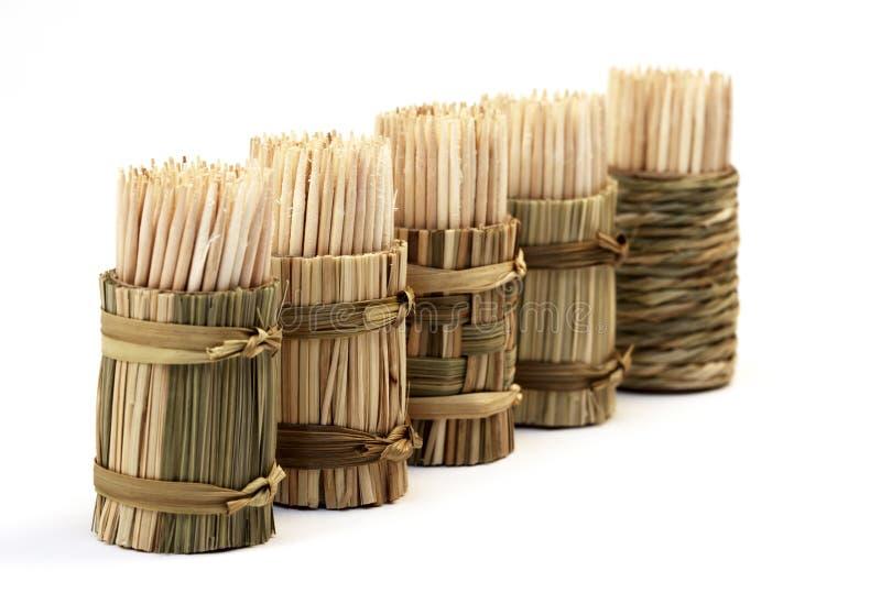 Toothpicks stockfotografie