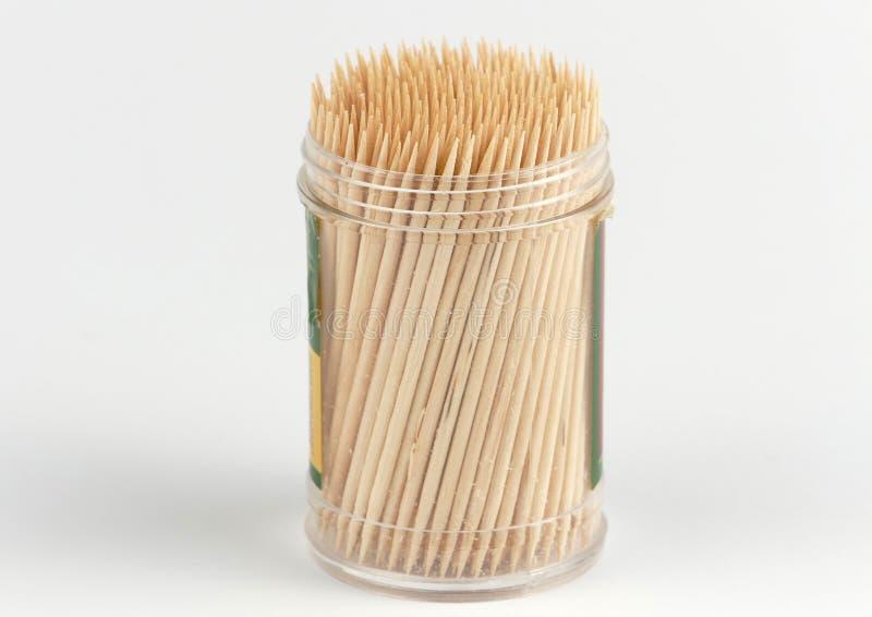 Toothpicks d'isolement photo stock
