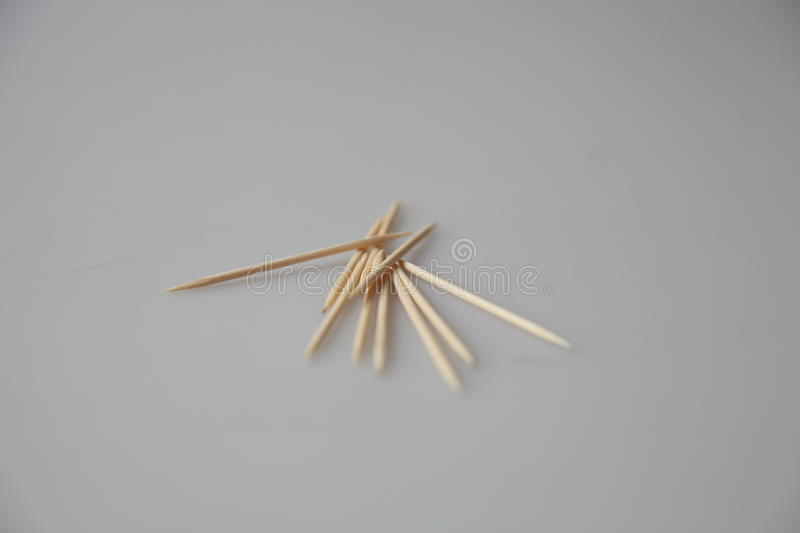 Toothpicks royalty free stock photography