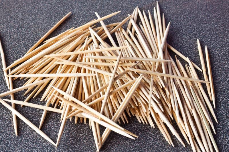 The Toothpicks Stock Photo