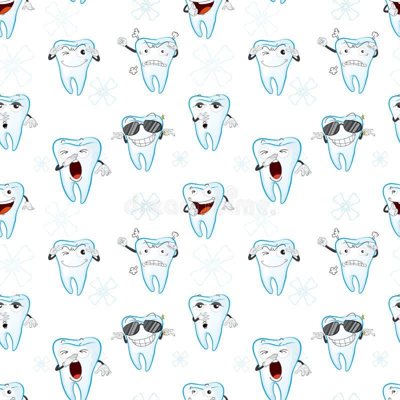 Tooths royalty ilustracja