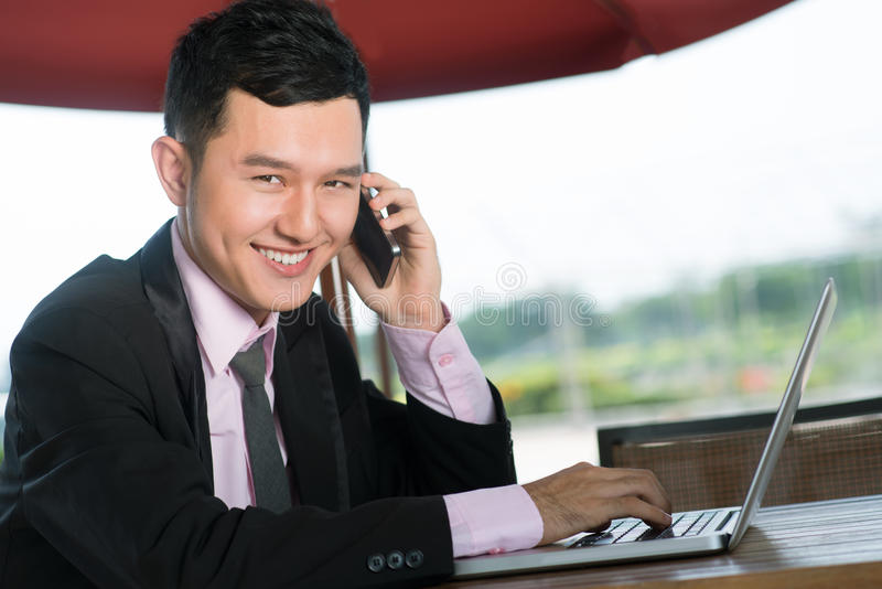 Download Toothy smile stock photo. Image of consultant, asian - 28376716