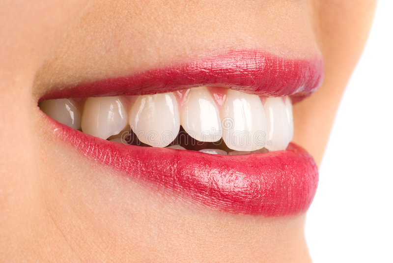 Download Toothy smile stock image. Image of isolated, close, focus - 7685273