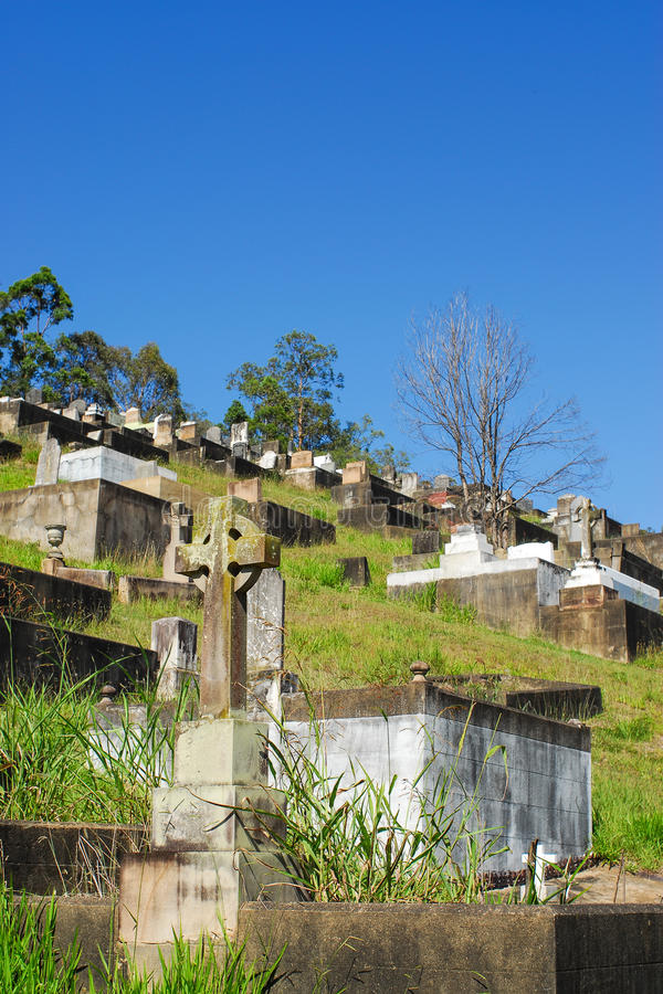 Toowong公墓 库存照片