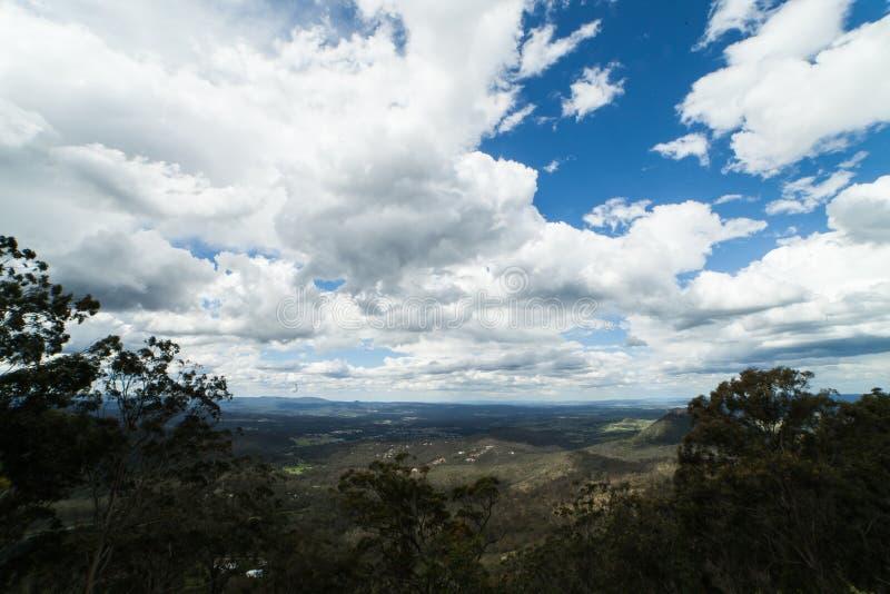Toowoomba krajobraz zdjęcie royalty free