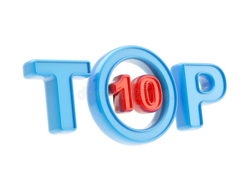 Download Top-10 Emblem Symbol Isolated Royalty Free Stock Photography - Image: 25329987