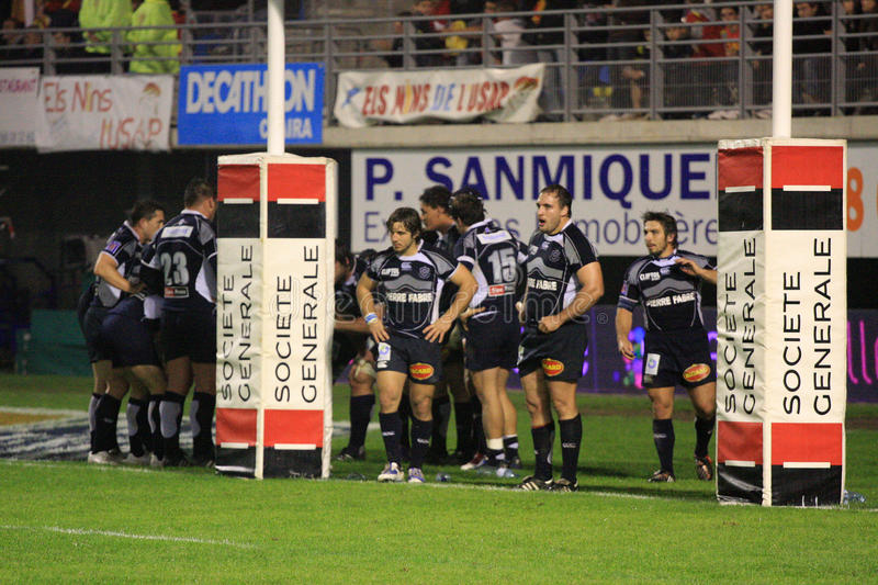 Download Top 14 Rugby Match USAP Vs Castres Editorial Stock Image - Image: 11633549
