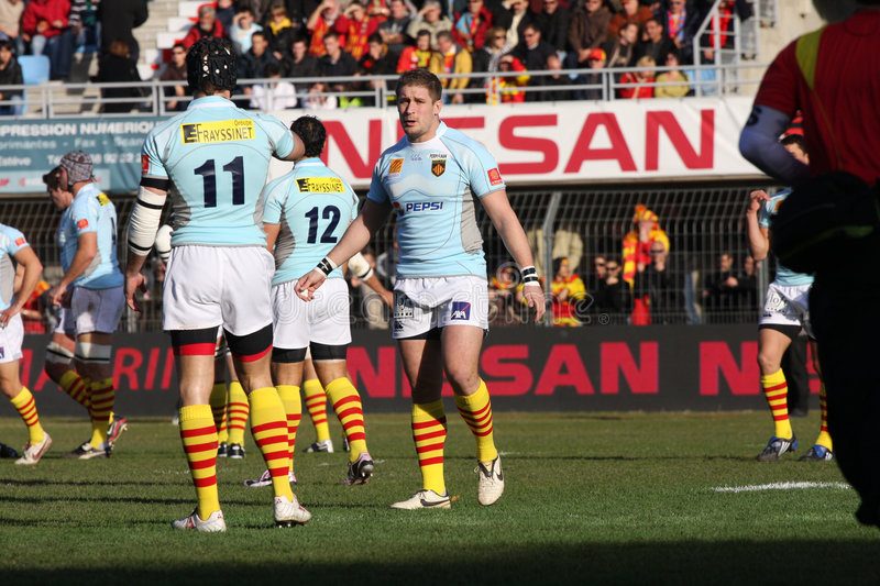 Download Top 14 Rugby Match USAP Vs Castres Editorial Stock Image - Image: 7510434