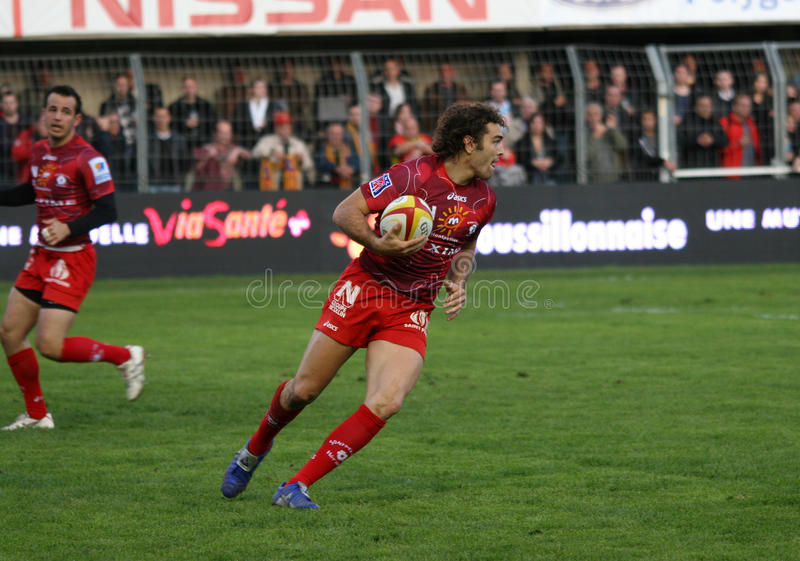 Download Top 14 Rugby Match USAP Vs Montpellier Editorial Stock Image - Image: 12073309