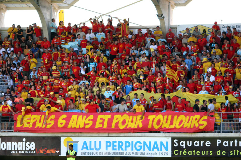 Download Top 14 Rugby Match USAP Vs Stade Toulousain Editorial Photo - Image: 10716076