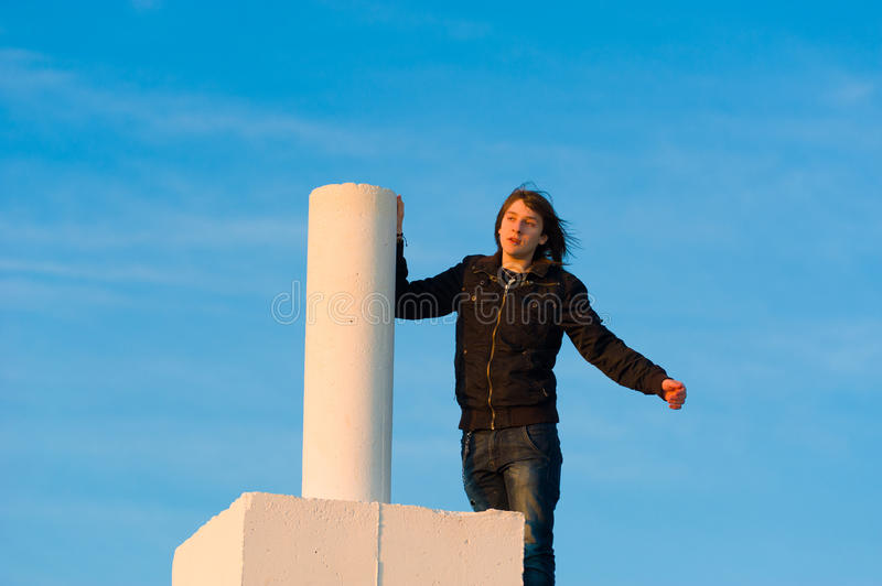 Download On top stock image. Image of aspirations, strenuous, teenager - 22305523