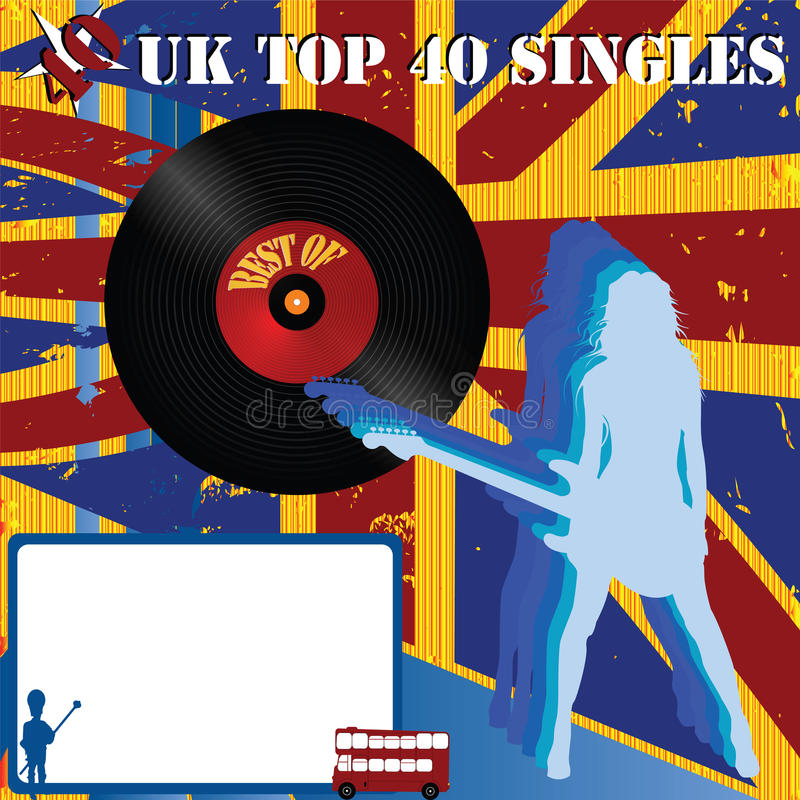 UK Rock Band stock vector  Illustration of vector, banner