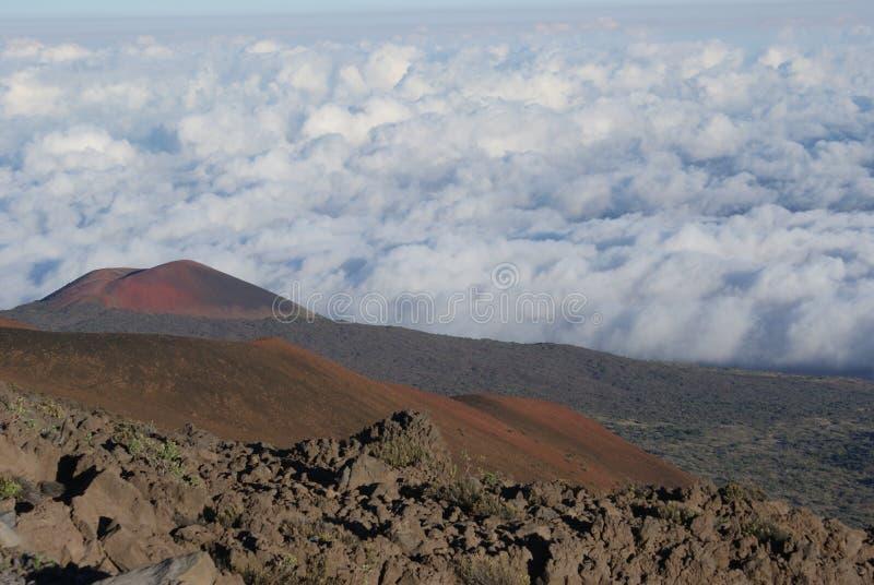 Top aan Mauna Loa royalty-vrije stock afbeeldingen