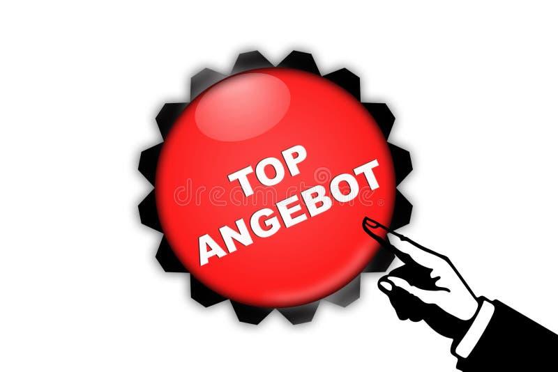 Download Top angebot stock illustration. Illustration of strategies - 12068554