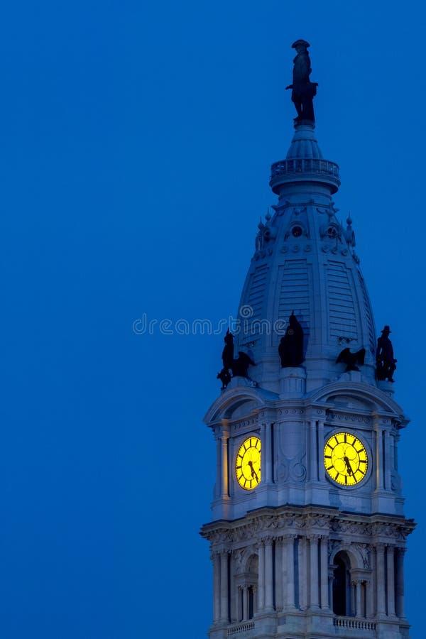 Philadelphia City Hall stock photography
