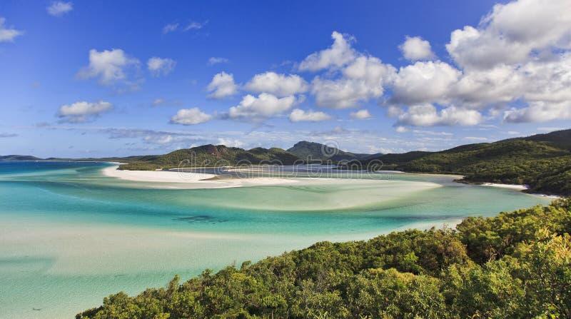 Top de la derecha de la playa de los Pentecostés de QE fotos de archivo