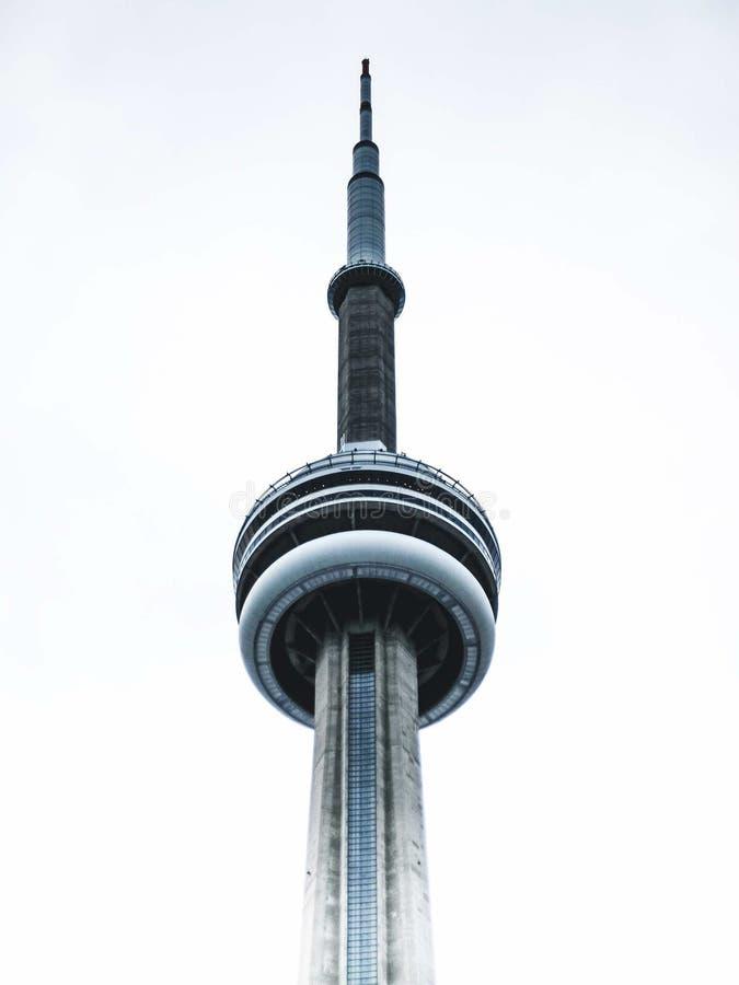 Top de la torre del NC en Toronto fotografía de archivo