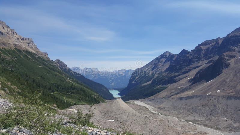 Top de Lake Louise fotos de archivo