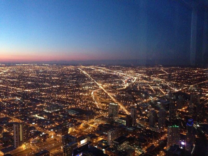 Top de Willis Tower fotos de archivo